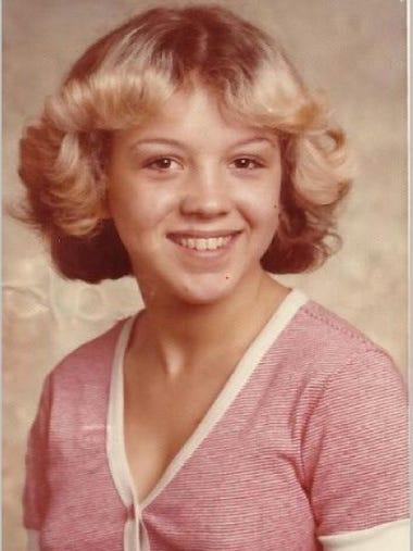 A photo of Tammy Jo Alexander as a teen.