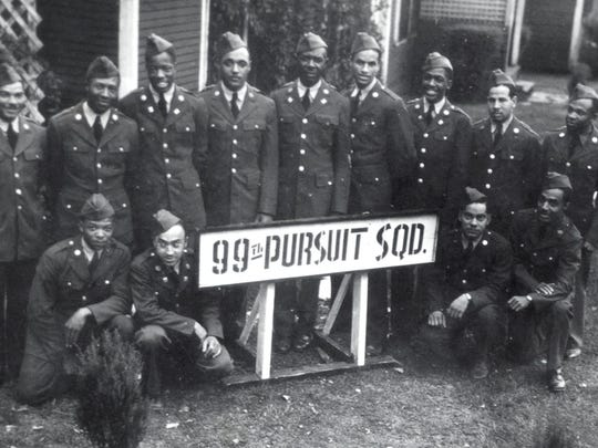 The 99th Pursuit Squadron, the first-ever African-American flyer unit, was stationed at Maxwell Field for five days in November 1941 in between leaving Illinois and arriving in Tuskegee.