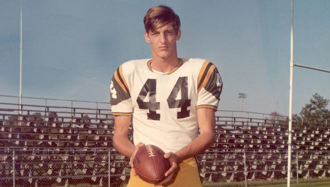 Ray Guy punted for the Southern Miss Golden Eagles in the early 1970s.