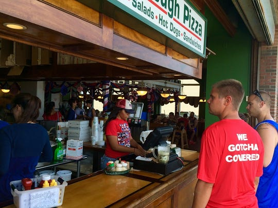 In this file photo, The Dough Roller on Third Street was one of many packed Ocean City businesses during a holiday weekend.