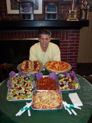 Paul Andoni, the co-owner of Shield's Pizza.