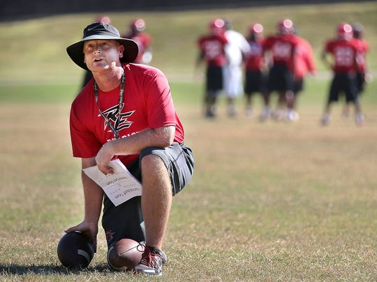 Coach Major Wright led Raleigh-Egypt to a 9-0 start