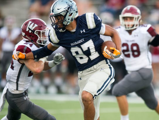 Farragut's Jacob Warren comes up against Morristown