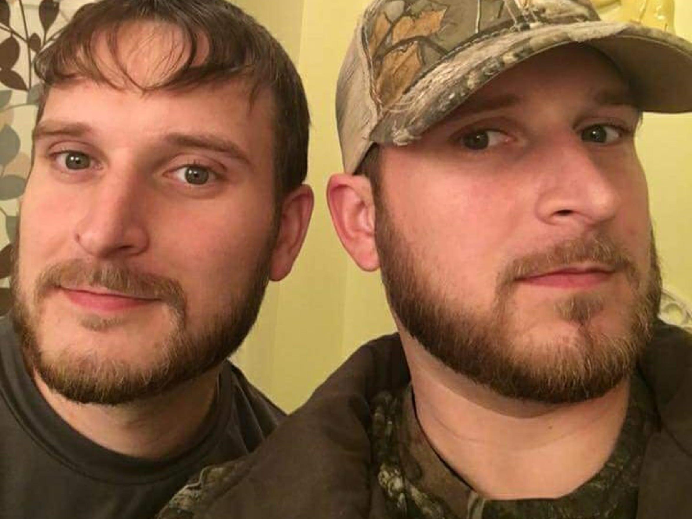 Twin brothers Chad and Josh Biesecker, Waynesboro,