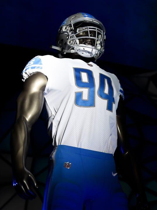 Detroit Lions Unveil New Look Uniforms