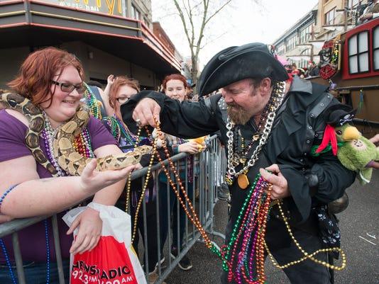 Mardi Gras Saturday parade