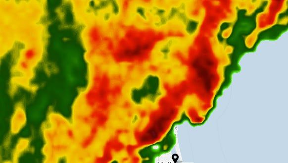Brevard County severe weather.