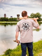 Scott Gardner of Ironside Axe Throwing will open an center this summer in West Des Moines.