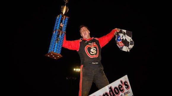 Danny Dietrich won the 2016 Pennsylvania Sprint Car Speedweek championship.