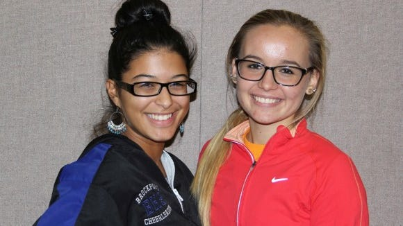 Brockport High School seniors Laritza Fernandez Claro (left) and Danielle Falkenstein (right). provided photo