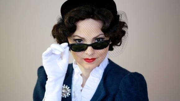 Looking good. Marcy Savastano as Vivien Leigh during Fringe 2015