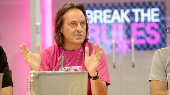 T-Mobile CEO John Legere announced his company's plan first, with Sprint following quickly after.