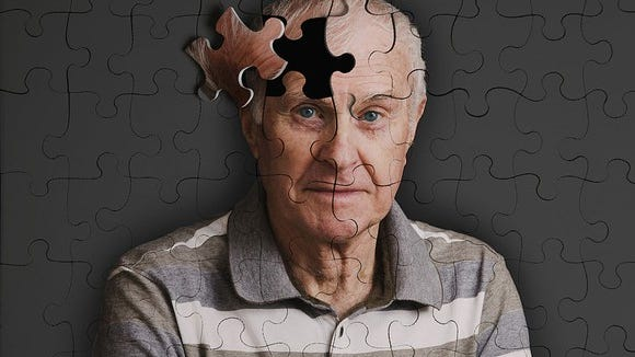 Baby Boomers are turning 65 at the rate of 10,000 a day. One in nine of that 10,000 is going to have Alzheimer's disease.