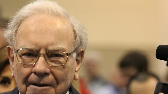 Warren Buffett, the chairman and CEO of Berkshire Hathaway.