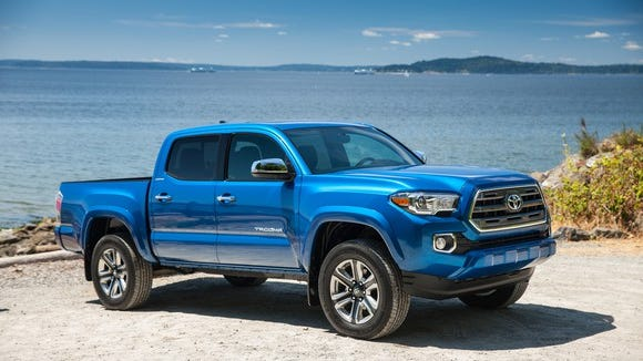 The Toyota Tacoma is still the best-selling midsize truck.