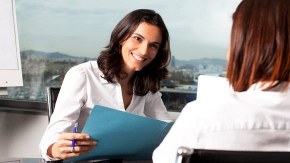 Entering the job market in your 40s can be tough. Oftentimes, interviewers might be younger than the job candidate.