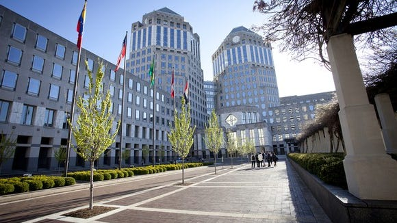 P&G worldwide headquarters in Cincinnati, Ohio.