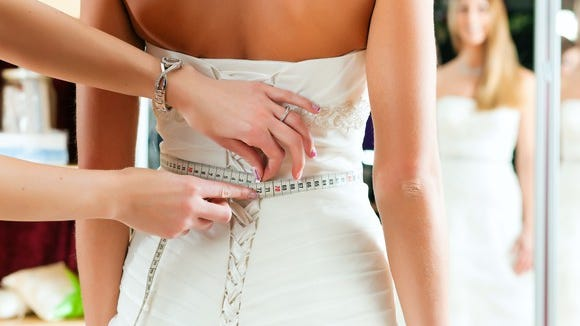 David's Bridal sells affordable wedding dresses.