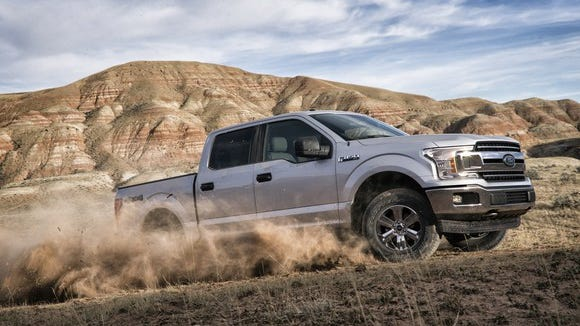 The Ford F-series pickup truck is the most popular vehicle in the U.S. by sales volume.