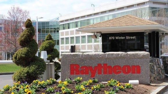 Raytheon corporate headquarters in Waltham, Massachusetts.