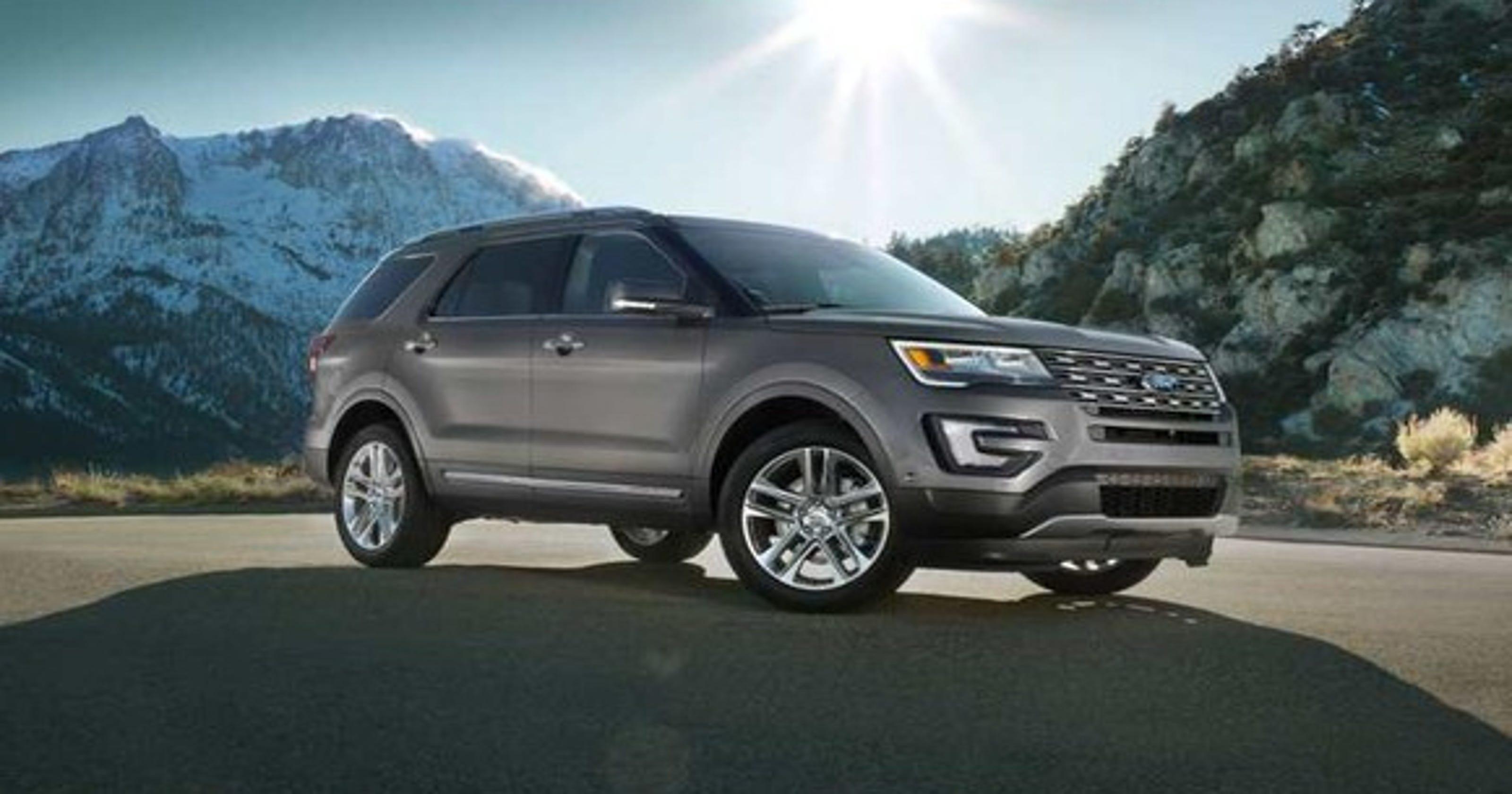 Ford recalls 1 2M Explorer SUVs, 123,000 F-150 pickups to