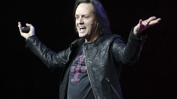 CEO John Legere refuses to ease up T-Mobile's assault on its competitors' customer bases.