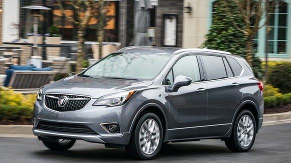 The Buick Envision, which General Motors makes in China, is suddenly subject to President Donald Trump's tariffs on vehicles imported from China.