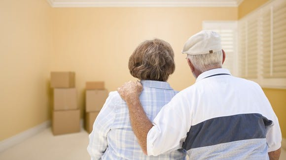 Many seniors have a hard time leaving the home where they spent decades raising a family and building up a lifetime of belongings.