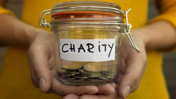 There's a few things you should check out before donating money to a charity.
