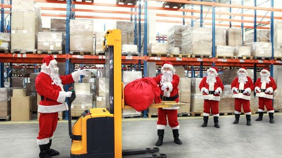 A number of companies are already hiring seasonal workers.