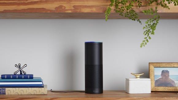 Amazon Echo, the online retailer's original smart speaker.