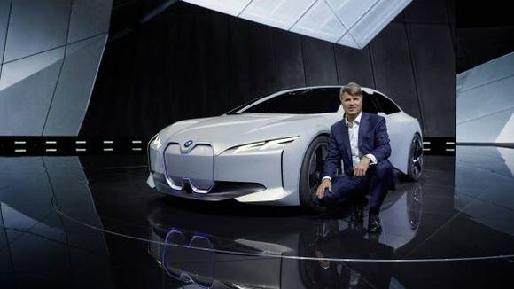 BMW CEO Harald Krueger is adeptly balancing heavy investments in future technologies with products intended to maximize profits in today's markets.