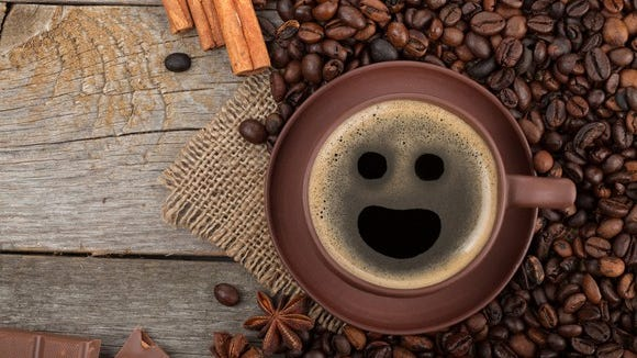 Smile, coffee fans!
