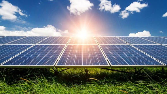 A greater focus on preventing climate change could boost demand for solar energy.