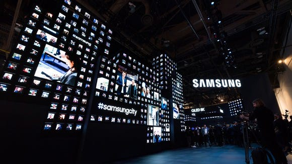 Samsung at CES 2019.