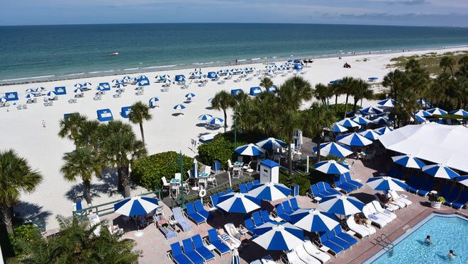 "Tripadvisor's annual Travelers' Choice Awards for beaches lauded St. Pete Beach as ""a great walking beach with white quartz sand, clear calm water, and seashells by the truckload. """