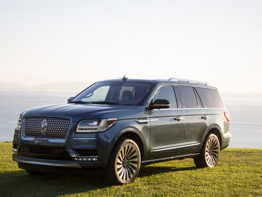 This photo provided by Edmunds shows the 2018 Lincoln
