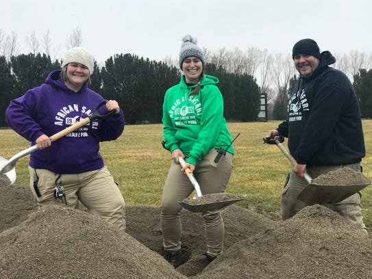 Ground was broken last week for a new Aviary Adventure