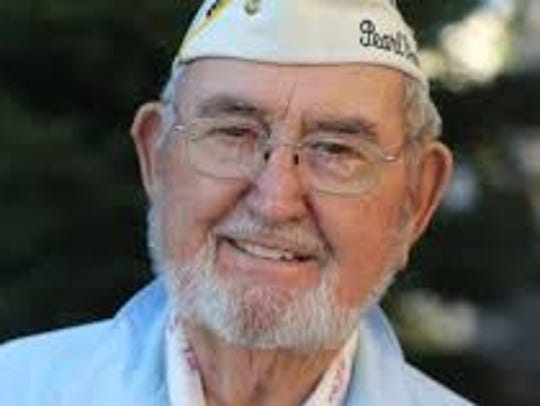 Pearl Harbor survivor Mel Fisher of Jones Valley.
