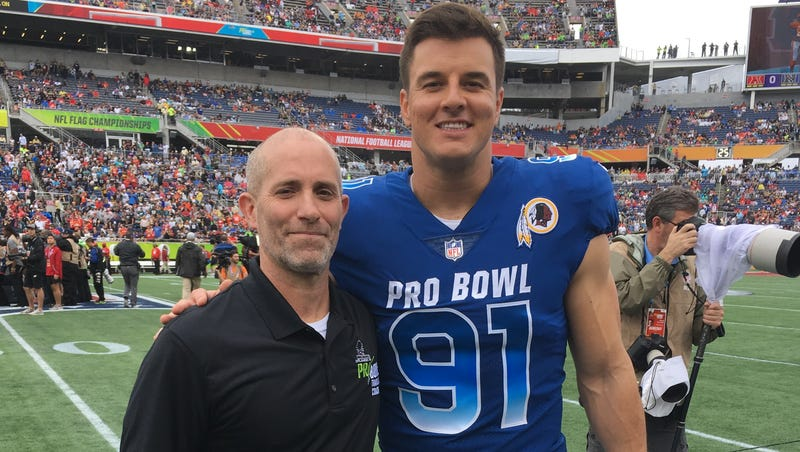 new arrival 779f3 d3ff8 Muncie's Ryan Kerrigan invites former high school coach John ...