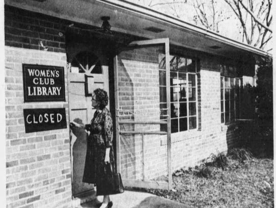 The Women's Club Library on Bellevue Street closed