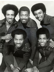 The Temptations in 1972