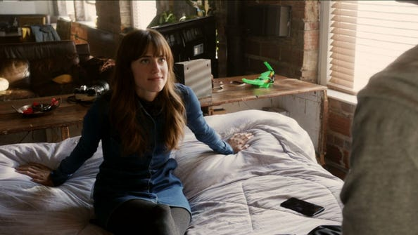Allison Williams as Rose in a scene from the movie