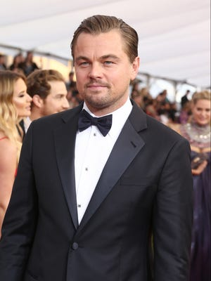 Leonardo DiCaprio arrives at the 22nd annual Screen Actors Guild Awards at the Shrine Auditorium & Expo Hall on Saturday, Jan. 30, 2016, in Los Angeles. (Photo by John Salangsang/Invision/AP)