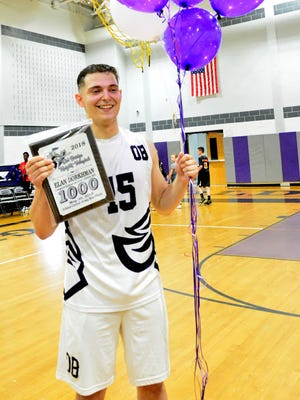 Old Bridge High School's Elan Dorkhman is the Home News Tribune's 2018 Boys Volleyball Player of the Year
