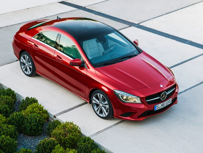 Entry-level 2014 Mercedes-Benz CLA250 is among the