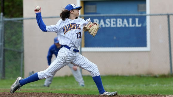 Carmel defeated Mahopac 18-0 in baseball action at
