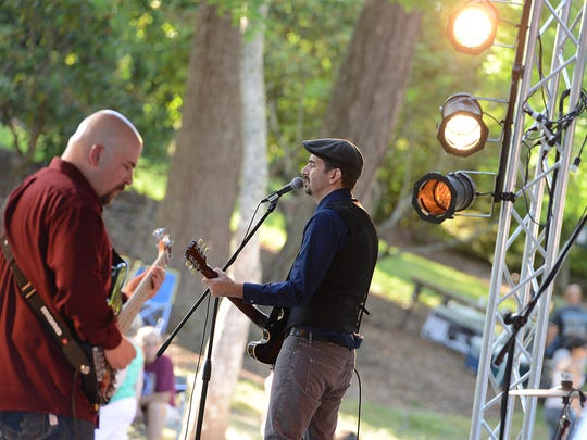 Kevin Selfe and the Tornadoes perform at the Salem Art Fair & Festival in 2014. Catch them Saturday, Nov. 12, at the Half Penny Bar & Grill.