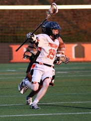 Justin Shocker helps lead a young York Suburban defense.