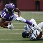 Vikings have little time to recover after humbling loss